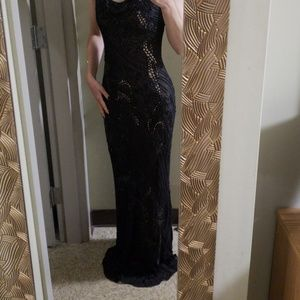 Sue Wong floor length gown